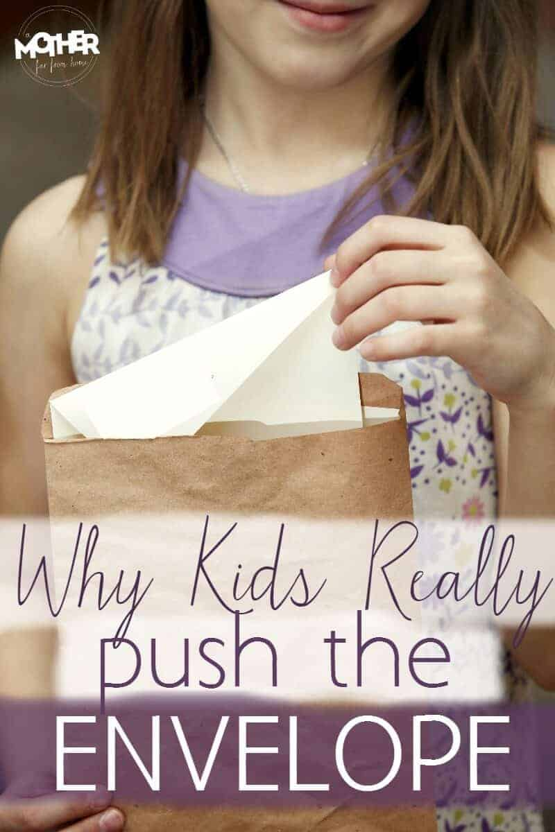 Do your kids push the boundaries? Toddlers and preschoolers are famous for pushing boundaries, testing limits, and starting power struggles. Here is the real reason kids push boundaries.