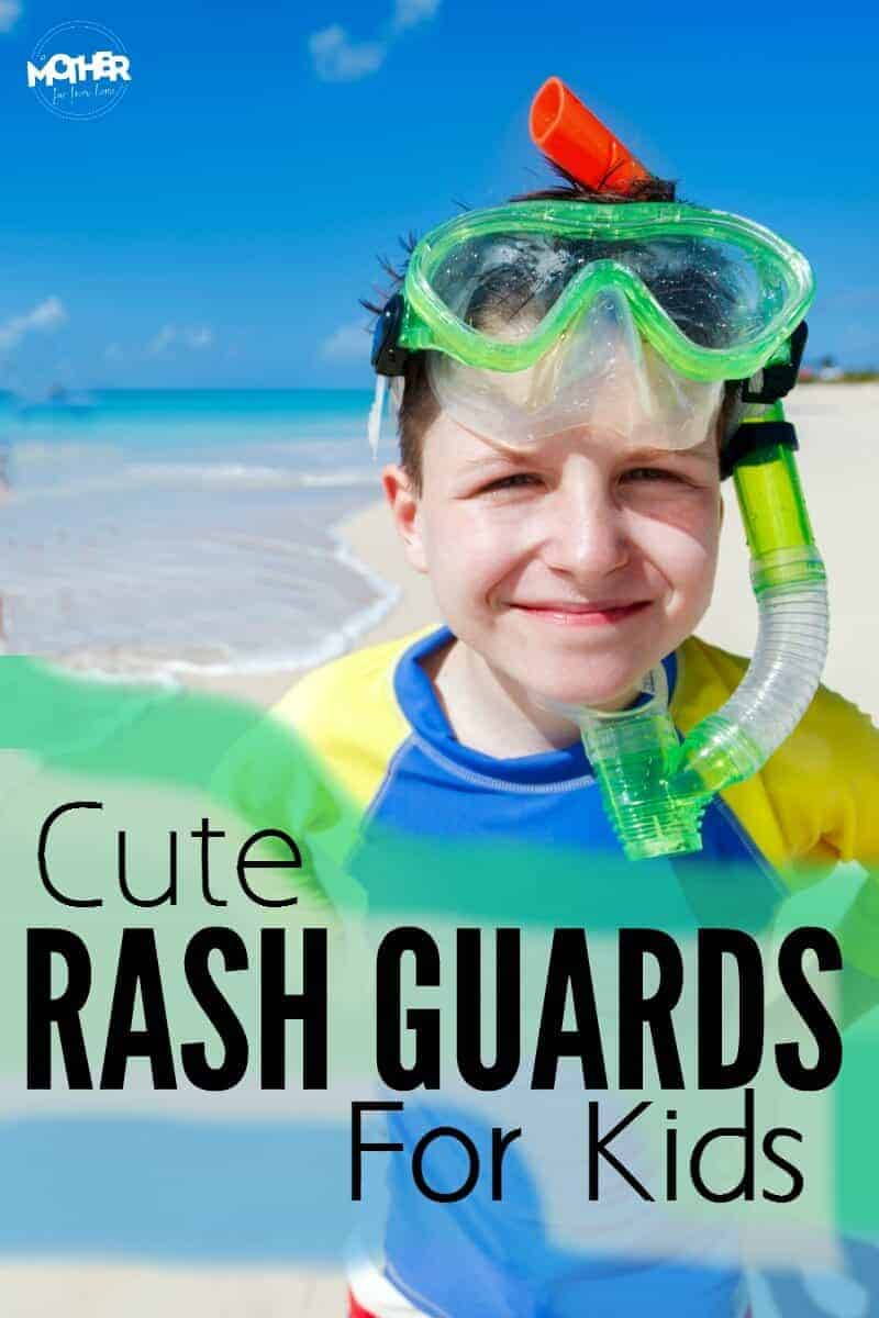 If you want bathing suits and swimwear for your kids that protects them from the sun and is cute at the same time, here are some awesome rash guards to help the get ready for summer fun in the sun.