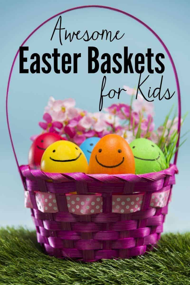Awesome inexpensive easter baskets for toddlers awesome easter baskets for toddlers and preschoolers for their easter egg hunts negle Images
