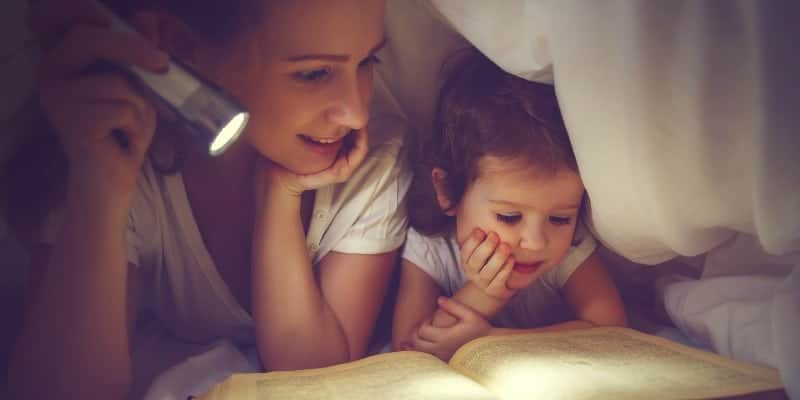 bedtime stories feature