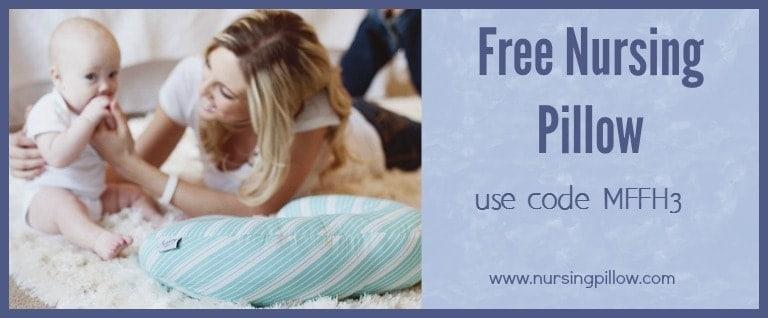 free nursing pillow