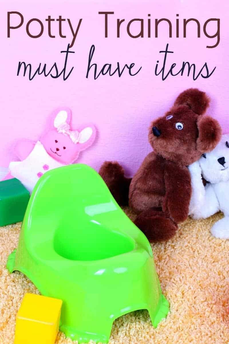 Got a toddler who is about to potty train? Here are some must have items moms need to have around when it's time to start potty training your toddler.