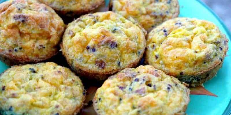 quina egg breakfast muffins