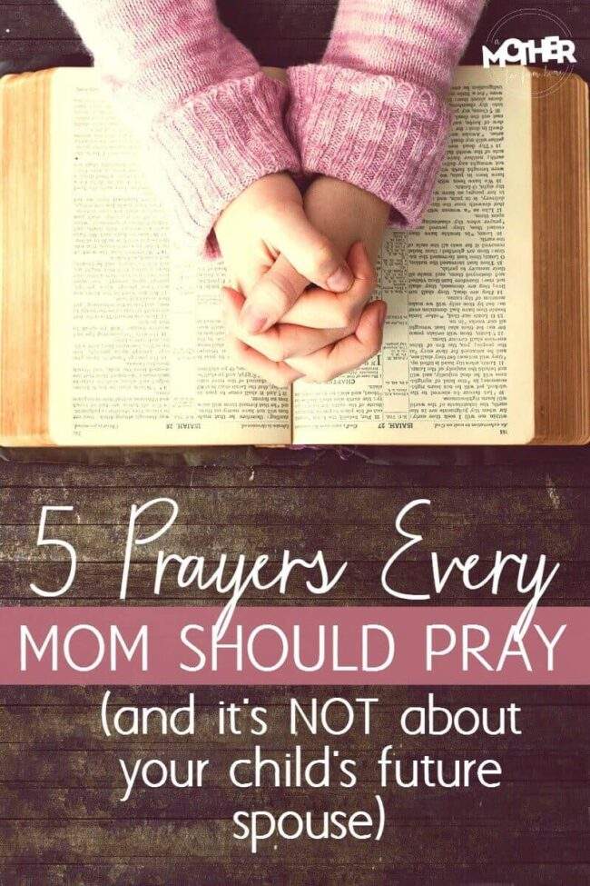 Christian mothers don't want to worry about their children, but here are some prayers that mothers need to pray over their kids.