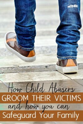 Child abuse is, unfortunately, more common than you'd like to think. Here is how child abusers groom their victims and how you can safeguard your family. Great post for child abuse awareness month.