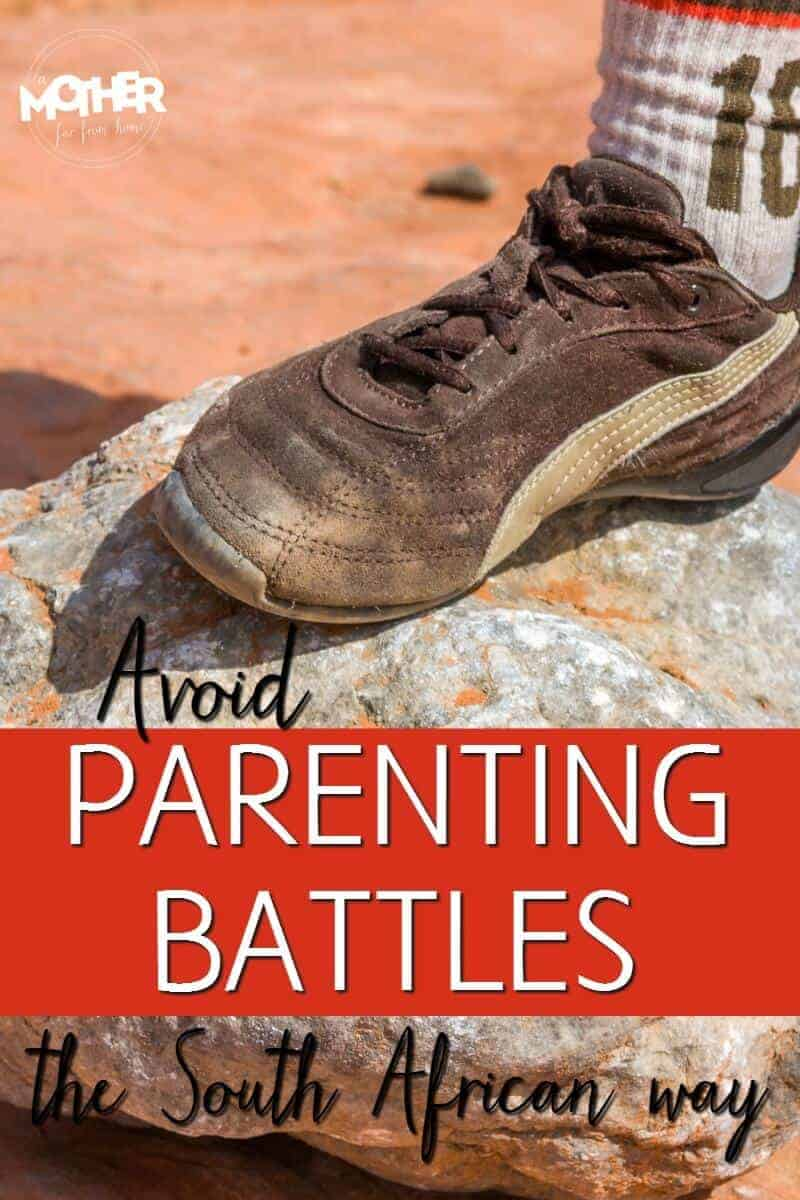 Do your children engage you in frequent power struggles and battles? An  awesome tip for