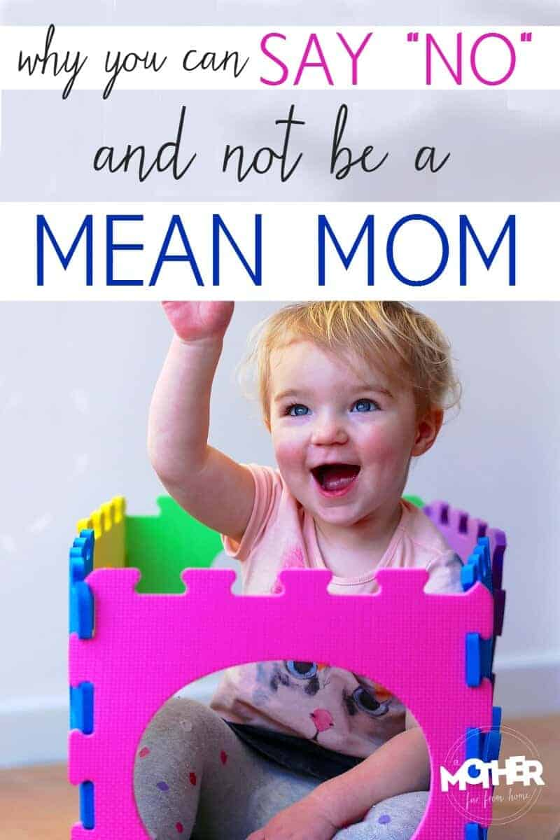 "No one wants to be the mother who says ""no"" all the time. But raising toddlers and preschoolers can be hard work and often requires we be very clear with our kids. Here's how to say ""no"" and still be a positive parent."