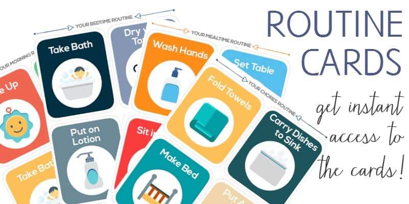 printable routine cards