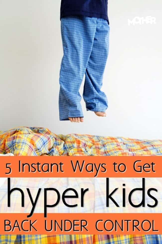 Are the kids hyper and out of control? Here's how to instantly get them to settle down. Good read for mothers of toddlers and preschoolers.