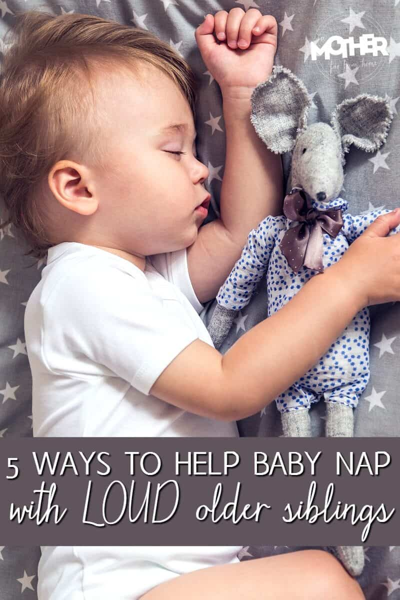 Got loud older kids who wake up the baby? Here's how you can help protect the baby's nap. Great read for moms of babies and toddlers.
