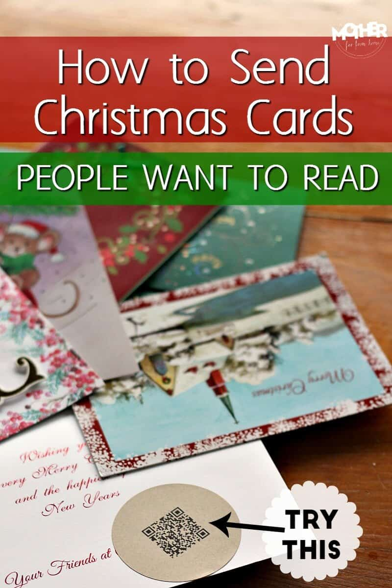 How to write, make, and send Christmas cards that people actually want to read