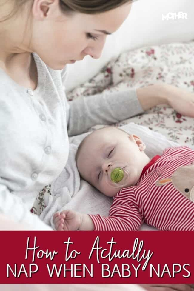 Do you have an infant or baby in arms? If you're an exhausted or tired mom in this newborn phase, here is how you can nap when baby naps.