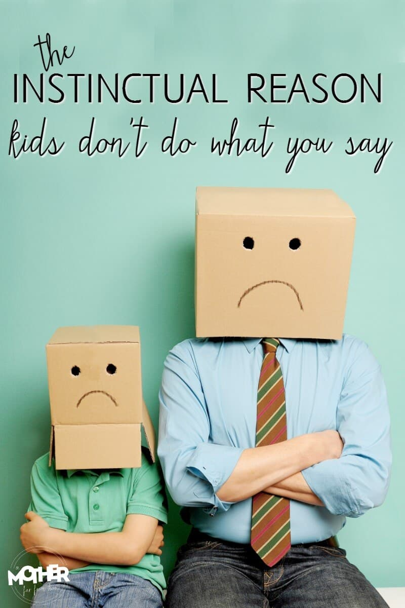 Do your kids do the opposite of what you've said? There's a scientific reason behind it. Must read for toddlers and preschoolers.