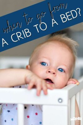 Do you think your toddler is ready to move out of the crib and go to a bed? Here are some pros and cons.