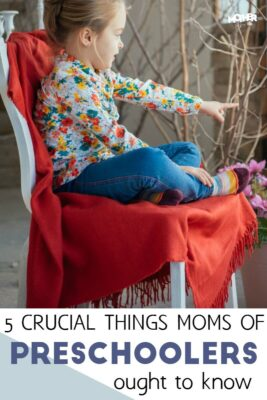 crucial things mothers of preschoolers must know