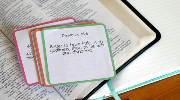 printable financial encouragement scripture cards
