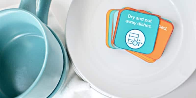 chore cards are an easy way to get started with chores for kids