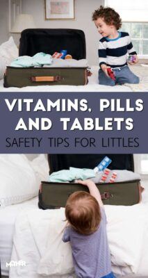 If you are traveling this summer with your children, consider these safety tips when packing your pills or medication.