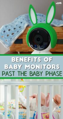 Here are some surprising benefits of baby monitors, long past the baby phase.