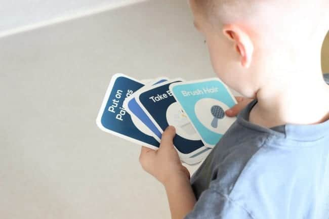 printable daily routine cards for kids