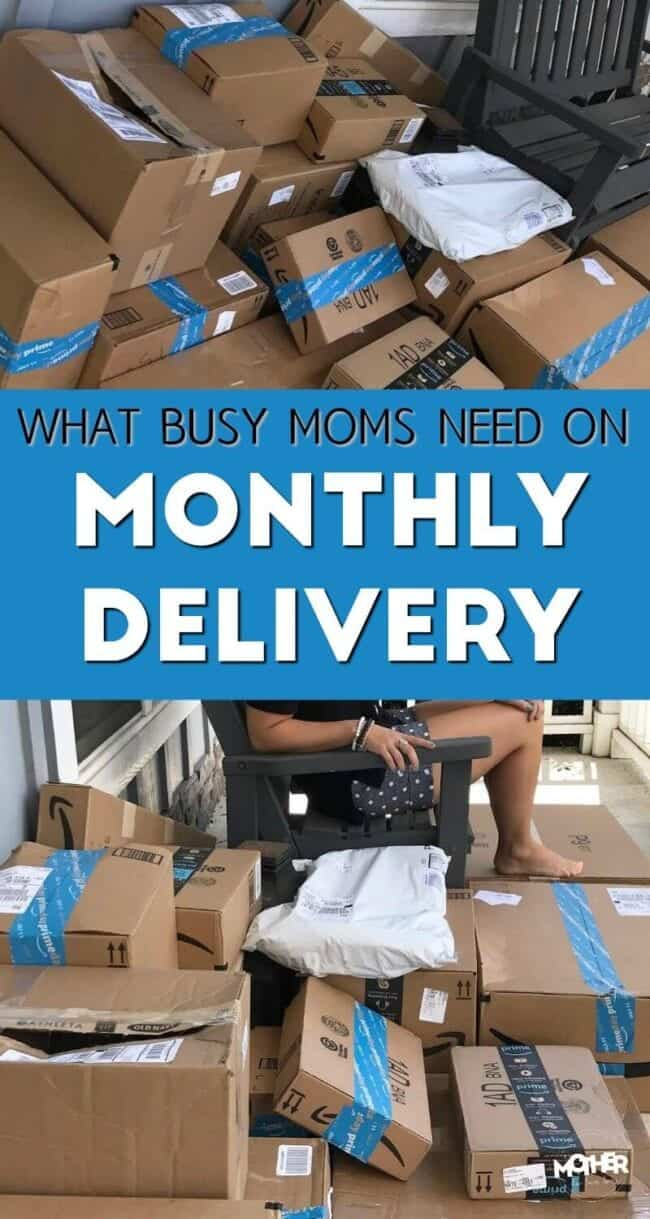 Mothers need these 10 things on their monthly deliveries with Amazon Prime Subscribe and Save.