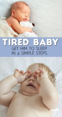 Here is how to help your tired baby get some more sleep. Good read for mothers of newborns and small infants.