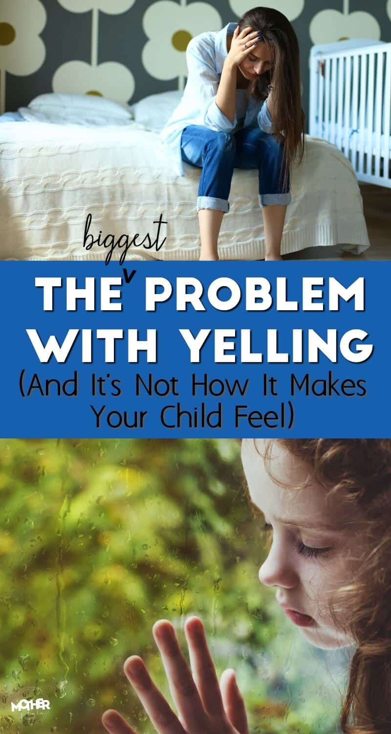 We all know yelling makes us and the kids feel bad, but did you know that yelling has another, perhaps worse, consequence?