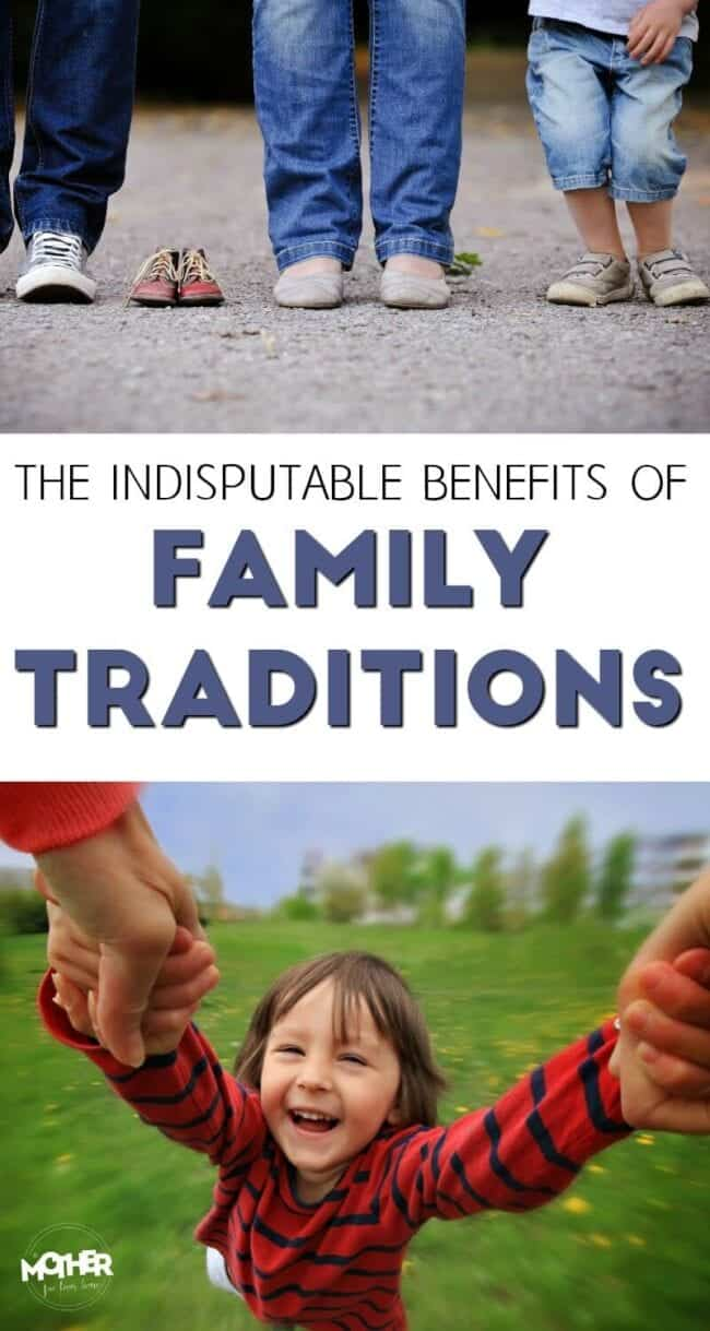 Do you know that family traditions are not only fun, but crucial for a strong family life? Here are the reasons why your traditions (big or small) matter.