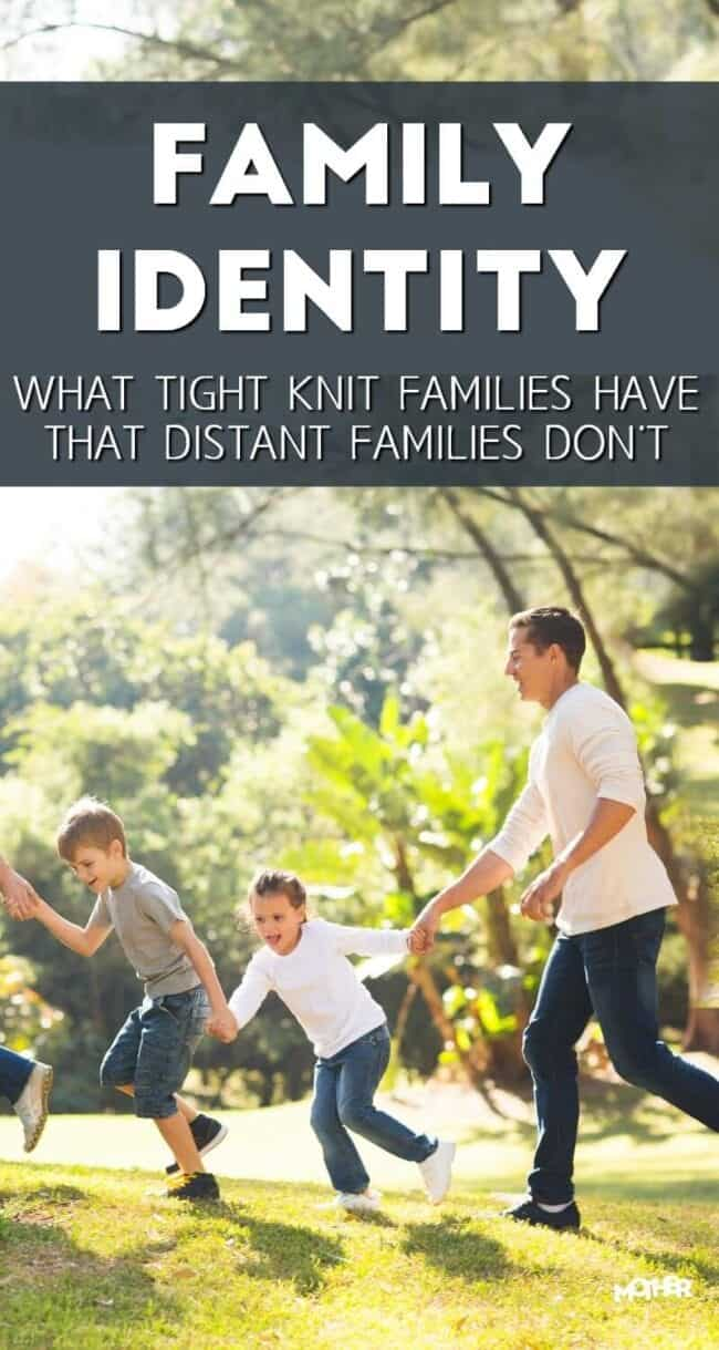 Family identity is so important as it regards the life of the family. Parenting with this aspect of family culture in mind makes a huge difference.