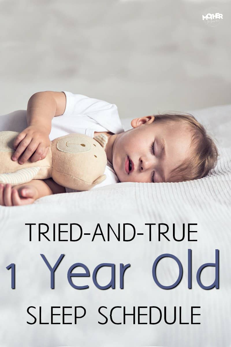 Want a 1 year old sleep schedule that'll help your little one stay rested and happy? Try this!