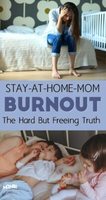 Here is a very freeing truth for those women going through the stay at home mom burnout. You won't regret reading this and applying it to your mindsets.
