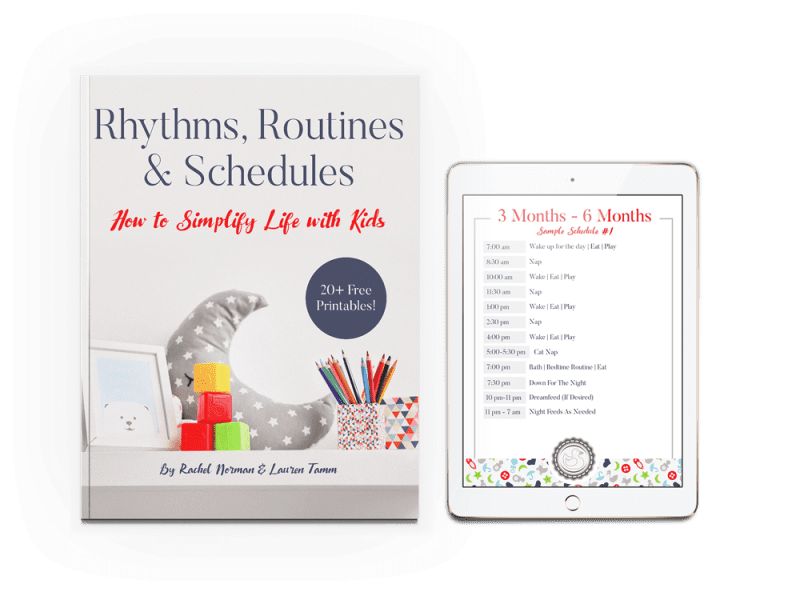 sample daily schedule for toddlers and routine for toddlers