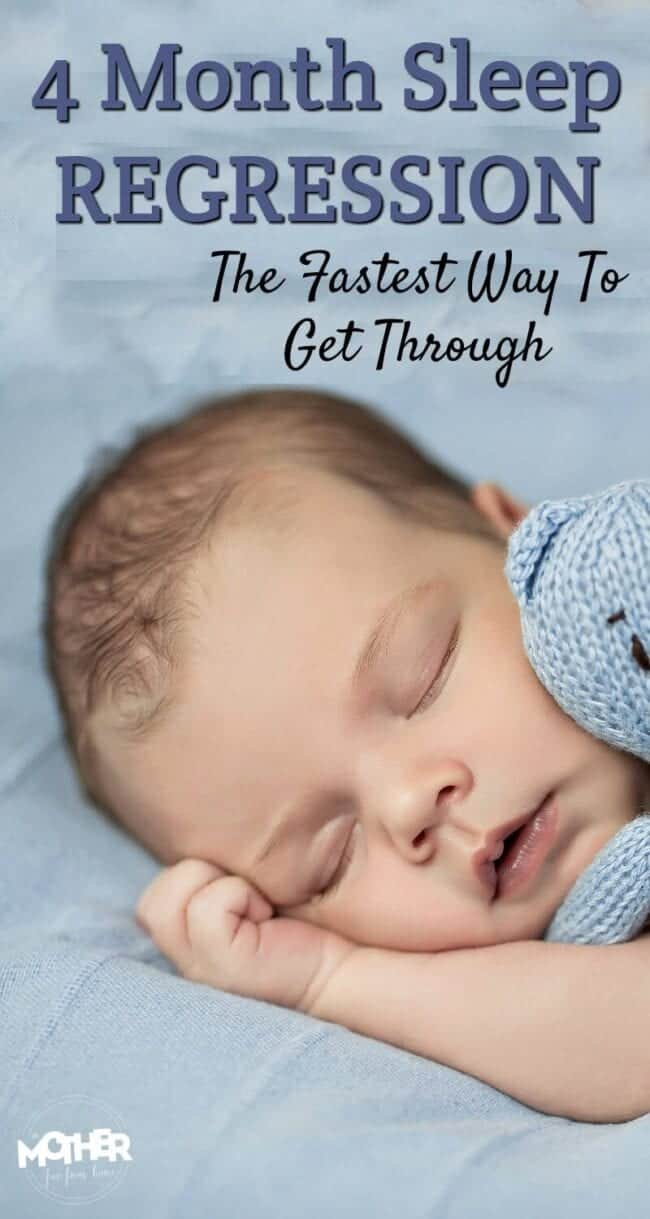 The Fastest Way To Beat The 4 Month Sleep Regression