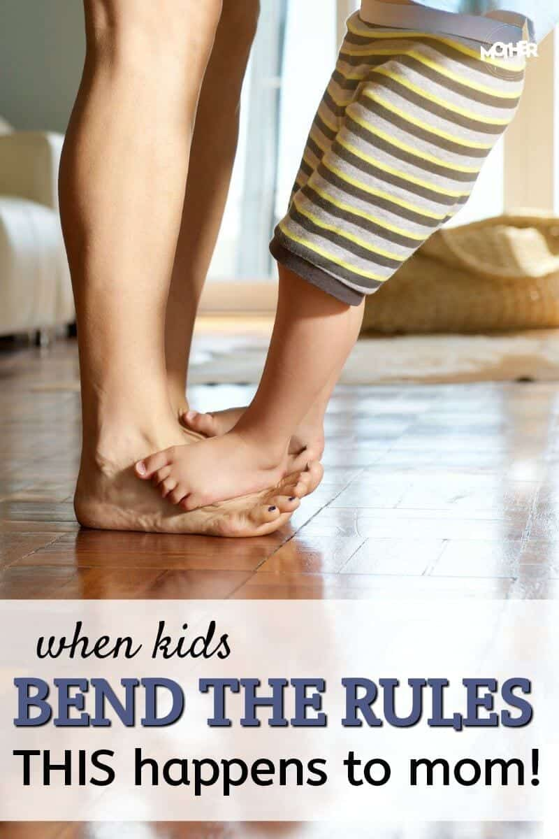 Every family has their own house rules for kids, but do you know what happens if mom doesn't keep them? Here is why house rules are so important FOR MOMS as well as the kids!