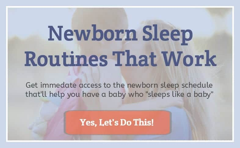 Pregnancy Newborn Sleep Routines