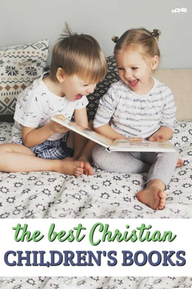 Want to find some Christian children's books for your little guys that are well-written and fun to read? Here's a big list for you!