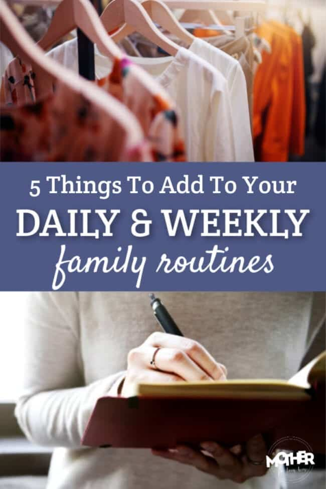 Want your life to run more smoothly so you have less stress and overwhelm? Add these things to your daily and weekly routines.