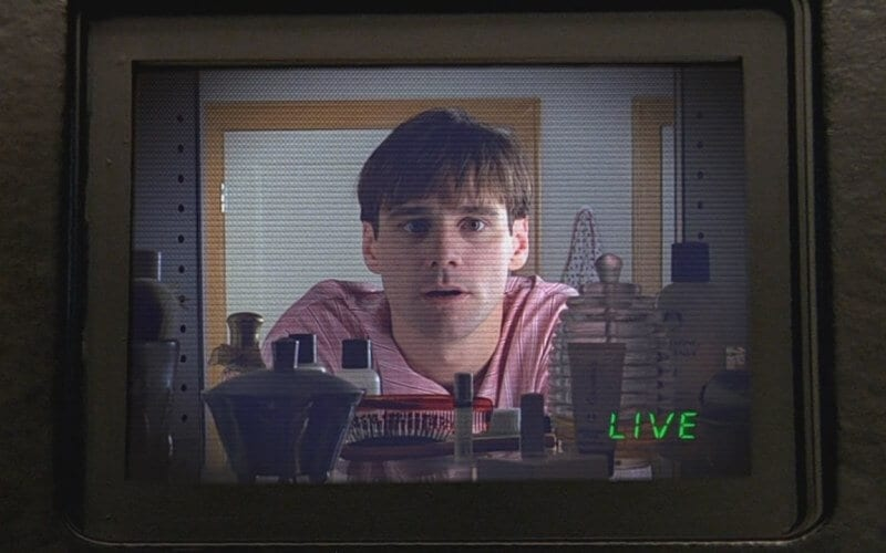 sharing too muich about your child's life is like the truman show