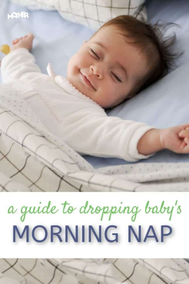 It's hard to know when babies go to one nap, but this will help you figure it out and make it easier for you to drop the morning nap.