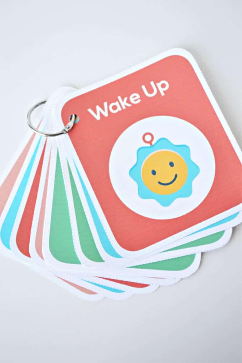 kindergarten routine cards
