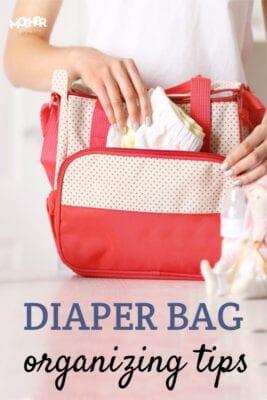 Diaper bag organizer ideas and organization tips