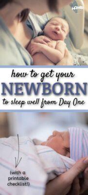 how to get newborn babies sleeping