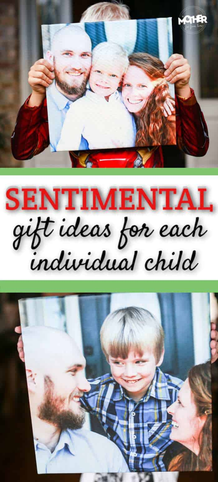 Here's an awesome sentimental gift idea for your kids that show your love.