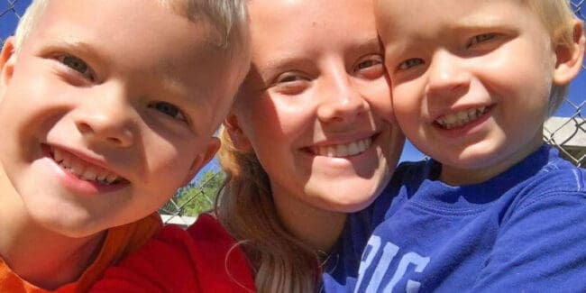 mothers helper smiling with kids, interview questions