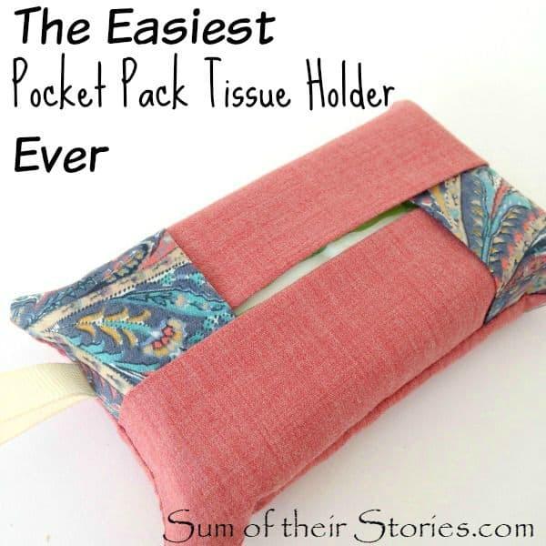 The Easiest Pocket Pack Tissue Holder Ever