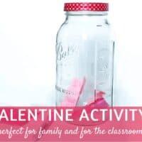 [Free Printable] Celebrate Valentine's Day with a Kindness Jar
