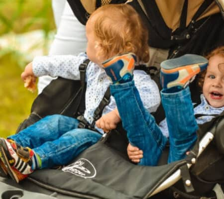 Best Double Stroller For Irish Twins (And Other Essential Gear)