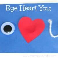 Eye Heart You: Easy Homemade Valentine