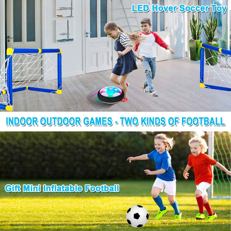 preschoolers and kids playing games outside with a soccer ball and goals