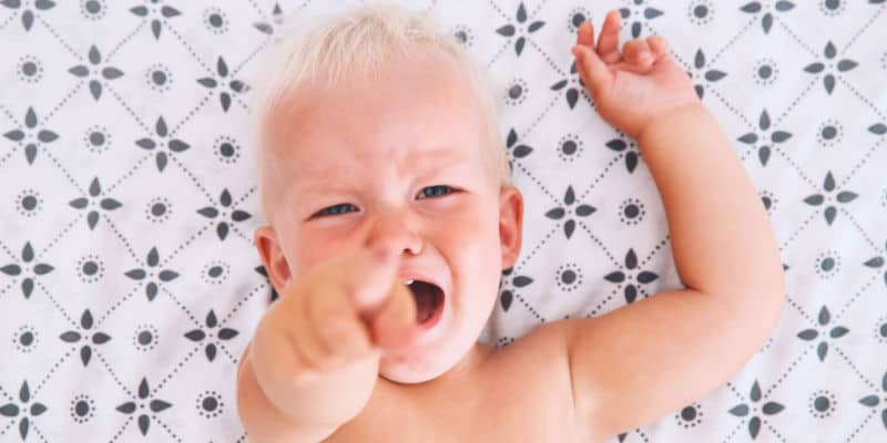 The yelling problem and baby.
